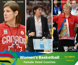 Meet the female coaches heading up the Women's basketball at Rio 2016…