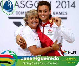 OLYMPIC COACH PROFILE; Jane Figueiredo – Diving (GB)