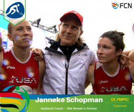 OLYMPIC COACH PROFILE; Janneke Schopman – Hockey (Team USA)