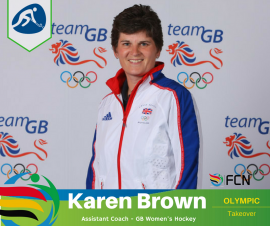 OLYMPIC COACH PROFILE; Karen Brown – Hockey (GB)