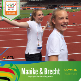 Meet Maaike & Brecht – our Team Netherlands fans and up & coming young coaches