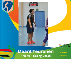 OLYMPIC COACH PROFILE; Maarit Teuronen – Boxing (Finland)