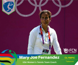 OLYMPIC COACH PROFILE; Mary Joe Fernandez – Tennis (USA)