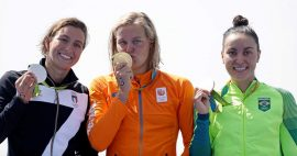 Maaike & Brecht; Dag 10 Sensationeel goud voor Sanne & Sharon -Team NL (Dutch)