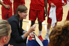BASKETBALL; The only fully lead female coached team lead the way in Women's Basketball Tournament