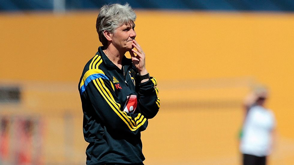 Soccer needs to embrace knowledge of female coaches, says Sundhage (Sweden)