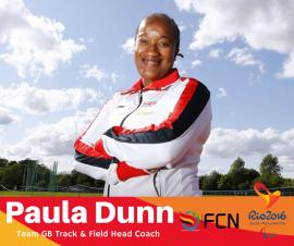 PARALYMPIC COACH PROFILE; Paula Dunn (Track & Field – GB)