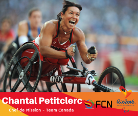 PARALYMPIC PROFILE; Chantal Petitclerc (Chef de Mission – Canada)