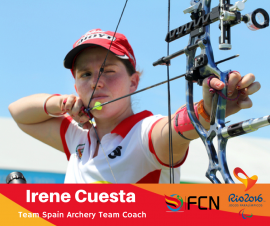 PARALYMPIC COACH PROFILE; Irene Cuesta