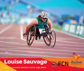 PARALYMPIC COACH PROFILE; Louise Sauvage (Athletics – Australia)