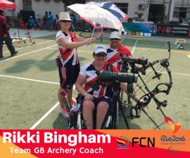 PARALYMPIC COACH PROFILE: Rikki Bingham (Archery – GB)