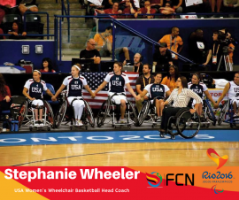 PARALYMPIC COACH PROFILE: Stephanie Wheeler (Wheelchair Basketball – USA)