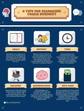 Tips for Managing Coach Burnout