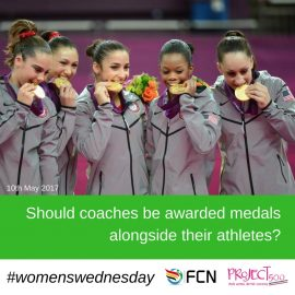 Should Coaches Be Awarded Medals Alongside Their Athletes?