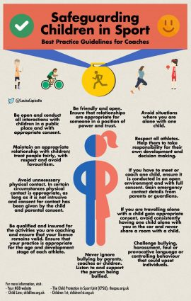 Safeguarding Children in Sport: Best Practice Guidelines for Coaches