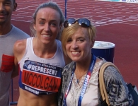 Eilish and Liz McColgan