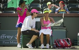 Are female tennis coaches on the rise?  In 2017 it certainly seems so…