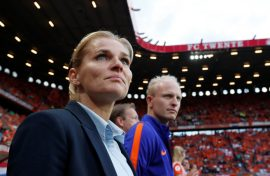 EURO 2017; 7 Months After Becoming Head Coach – Sarina Wiegman Leader Her Country To Their First European Championship Final