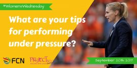 What Are Your Tips For Performing Under Pressure?