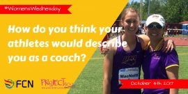 How do you think your athletes would describe you as a coach?