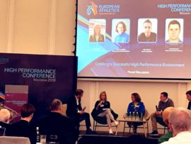 FCN Delivers Workshop at the European Athletics High Performance Conference 2019